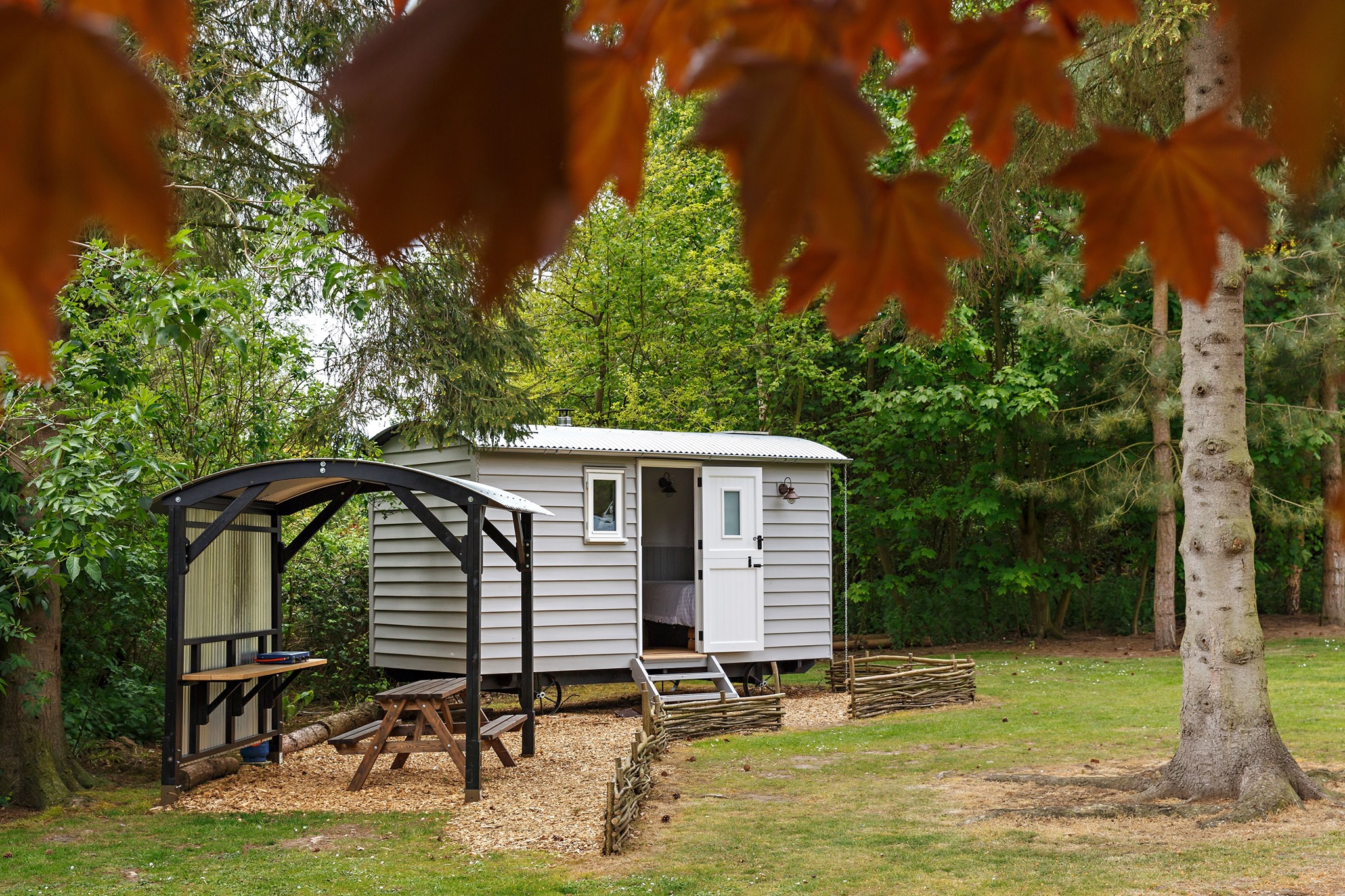 shepherd hut norfolk