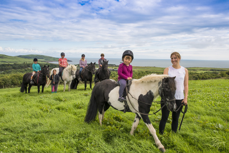 brighouse bay horse riding experience